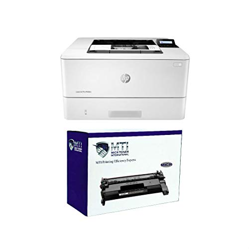 MICR Toner International Laserjet Pro M404n MICR Check Printing Bundle with 1 CF258A 58A MICR Starter Toner Cartridge (2 Items)
