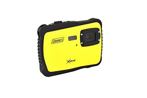Coleman C6WP-Y Xtreme 12.0 MP/HD Underwater Digital & Video Camera (Yellow)