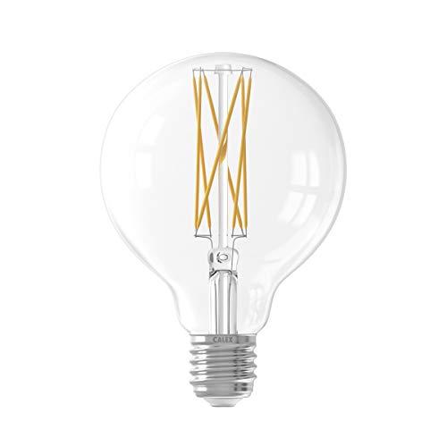 4W LED de larga filamento lámpara de globo Regulable e27g95de 240V transparente