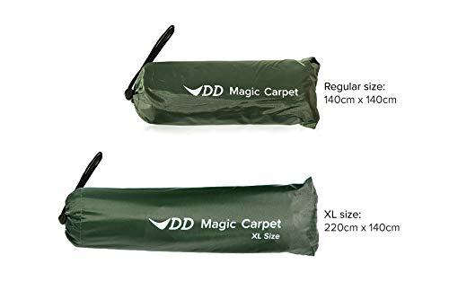 DD Hammocks Magic Carpet - XL Size: 2.2m x 1.4m Rainproof Tarpaulin for Lightweight Tarp Shelters Groundsheet and Tent…