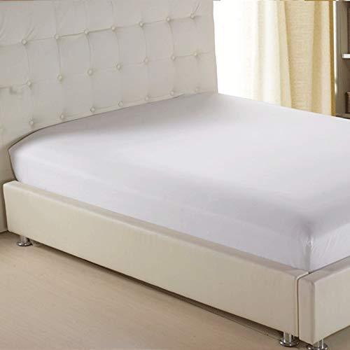 NTtie Protector de colchón - Protector de colchón antialérgico Funda de colchón Simple de una Pieza