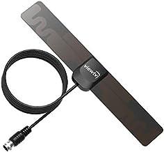 ViewTV 25 Mile Mini Flat HD Digital Indoor TV Antenna - 25 Miles Range - Black