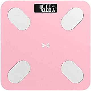 Báscula Grasa Bluetooth Body Fat Scale - Smart Bmi Scale Digital Baño Escala De Peso Inalámbrico Analizador De Composición Corporal Con