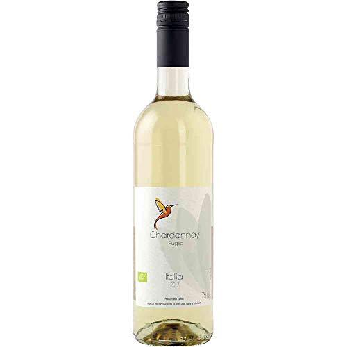Chardonnay Puglia 2018 Puglia IGP Weißwein Vegan trocken Edition BARRIQUE Apulien Italien 750ml-Fl BIO