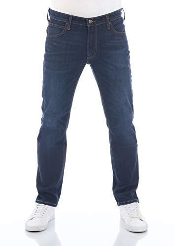 Lee Daren Jean pour Homme avec Fermeture éclair Fly Regular Fit Stretch Denim Coton Bleu w30-w38 - Bleu - W32