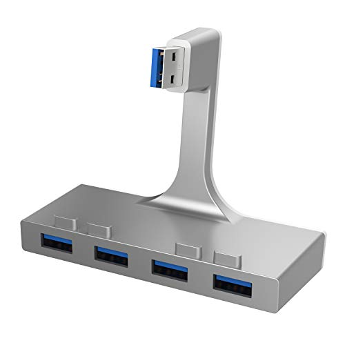 Sabrent Hub 4 porte USB 3.0, sottile, per iMac Unibody (HB-IMCU)