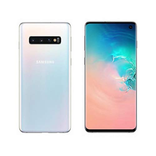 "Samsung Galaxy S10 Smartphone, 512GB,  Display 6.1"", Dual SIM,  Bianco (Prism White) Versione Spagnola"