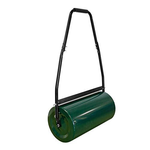 Preisvergleich Produktbild GEORGES Gartenwalze Rasenwalze Grün 48 Liter füllbar mit Sand oder Wasser