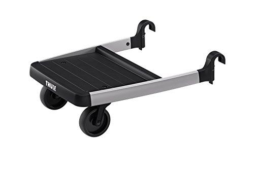 Thule Stroller Glider Board , BLACK/SILVER, 6.3 x 15.7 x 13.0