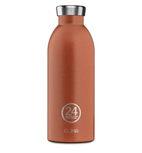 24 bouteilles Clima - 500 ml - Orange coucher de soleil