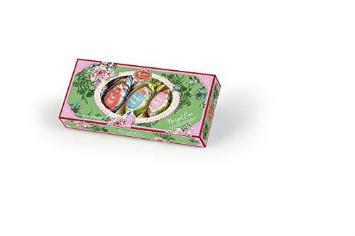 Reber Nougat Ostereier, Pralinen aus Alpenmilch-Schokolade, Verschiedene Nougat-Füllungen, Tolles Geschenk, 5er-Packung