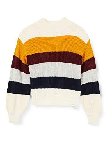 Garcia Mädchen V02641 Pullover, Off White, 176