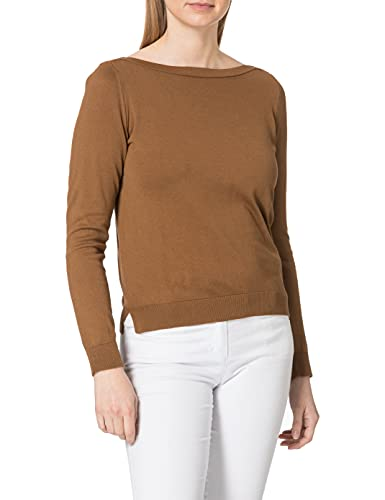 United Colors of Benetton (Z6ERJ Maglia SC Barca M/L 102MD1O02 Suéter, Toffee 11q, S para Mujer