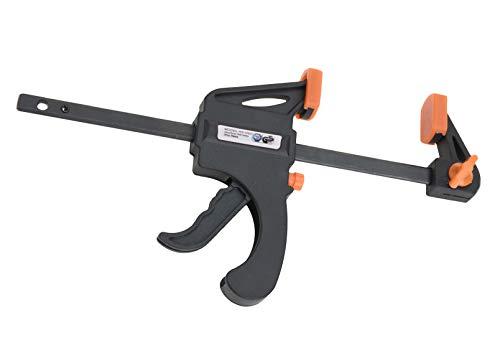 Einhandzwinge schwarz - 24er Set - Spannzwinge Schraubzwinge Schnellspann Zwingen Spreizzwinge Klemmzwinge