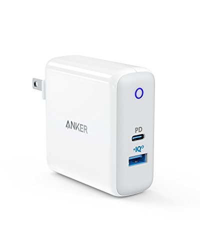 Anker PowerPort ll PD - 1 PD and 1 PowerIQ 2.0(USB-Cポート搭載 急速充電器)【PowerIQ 2.0搭載/PowerDel...