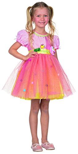 Luxuspiraten - Mädchen Kinder süßes Candygirl Kostüm, perfekt für Karneval und Halloween, 128, Rosa