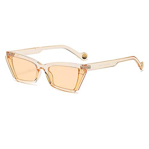 XDOUBAO Gafas de sol Gafas de sol PERSONALIDAD ANCHOR STRELE TOMANDO TIPO ESPEJO Pareja Casual Shade Gafas Tide-Color foto_Caja de champán