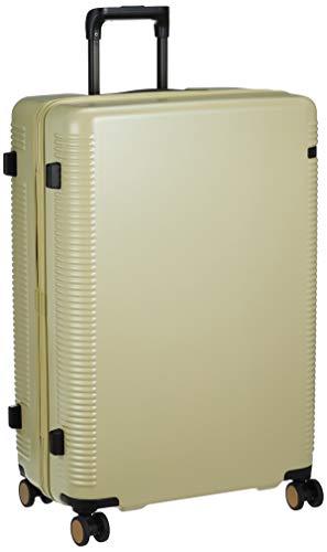 [エース トーキョー] スーツケース ウォッシュボード 日本製 キャスターストッパー付 ダブルホイール 04067 91L 70 cm 4.6kg 砥粉イエロー