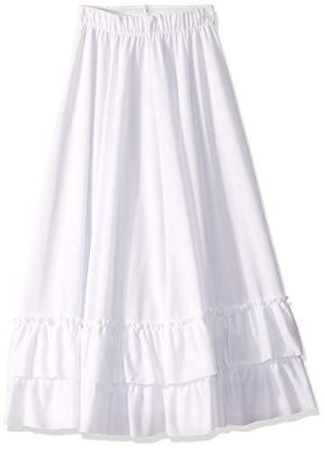 Clementine Praise & Liturgical Girls Little CLP-EU 08803C-I-Branco/Branco, I, White/White, Large