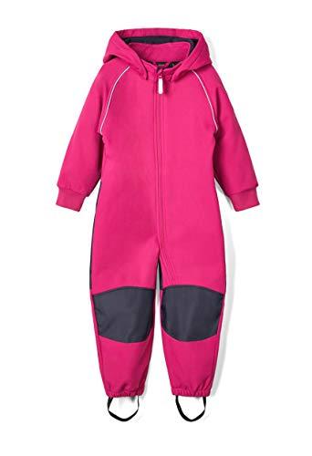 NAME IT Baby-Mädchen NMFMALTA Suit 2FO Regenanzug, Festival Fuchsia, 110