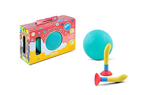 Comansi- Bola Loca Boing. Juguete de Aire Libre. Consiste en atrapar y lanzar la Pelota de mil Formas Turquesa (C18935)