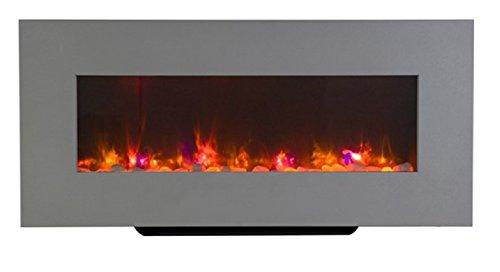Livin Flame Newton Elektrische open haard met ledverlichting, 98 x 45 x 14 cm, inclusief wandmontagekit