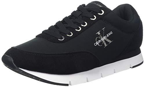Calvin Klein Jeans Tabata Nylon, Scarpe da Ginnastica Basse Donna, Nero (Black 000), 37 EU