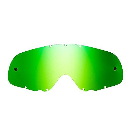 SeeCle 416167 lentes de repuesto para máscaras verde espejado compatible para màscara Oakley Crowbar