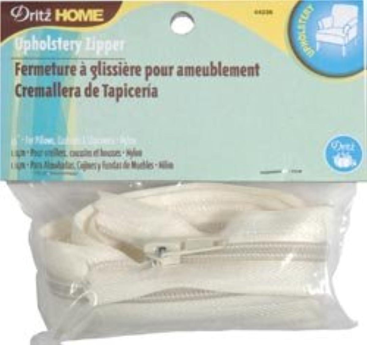 Bulk Buy: Dritz Sewing Nylon Upholstery Zipper 45