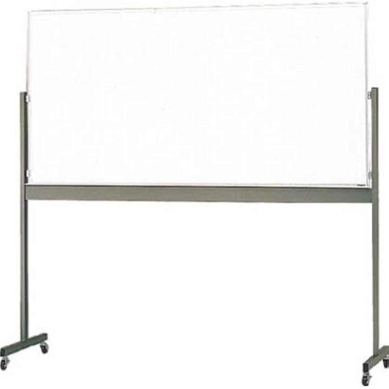 学習犯人引き受ける片面移動ボード暗線入り白暗線900×1800 MG-402A (1800X900)