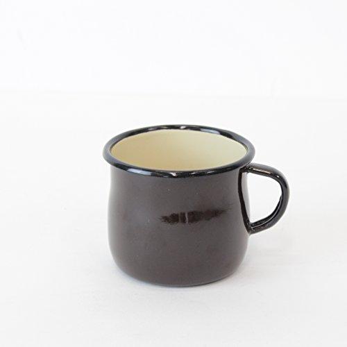Emalia Olkusz(エマリアオルクシュ)Belied Mug(ブリードマグ)250ml ポーランド製ホーローマグカップ ブラウン