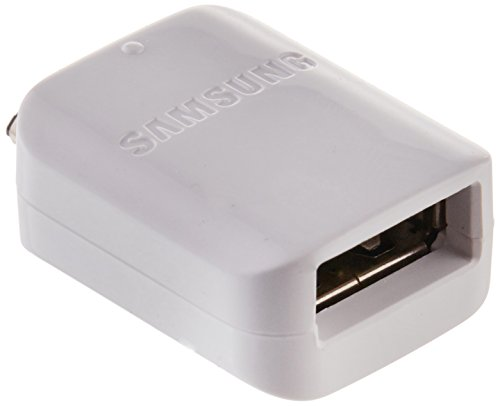 Original Samsung Micro-USB-OTG-Adapter, Weiß