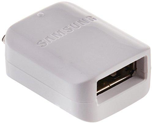 Original Samsung Micro auf USB OTG Adapter – Weiß