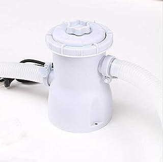 Swimming Pool Filter Pump, Children's Inflatable Bracket Swimming Pool Filter Pump Pool Cleaner 220V Filter Pump Circulati...