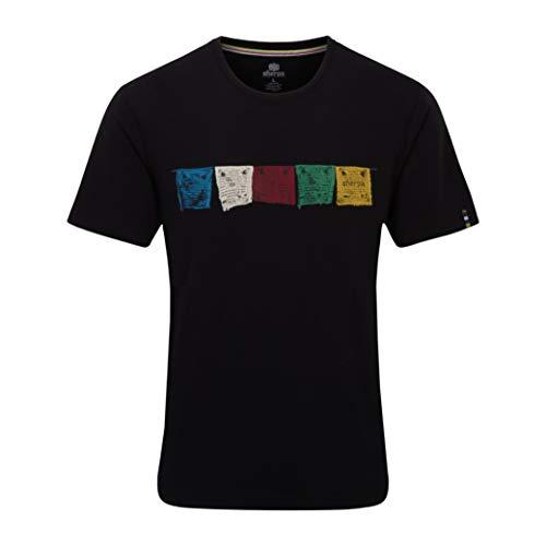 Sherpa Tarcho T-Shirt Homme, Black Modèle XXL 2020 T-Shirt Manches Courtes
