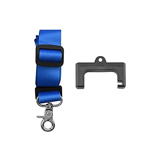 Cinghia del Supporto del Gancio del Telecomando per DJI Mavic Air 2/2S Mini 2 Laccio da Collo Custodia in Silicone RC Drone Accessori (Colore:Blue Set )