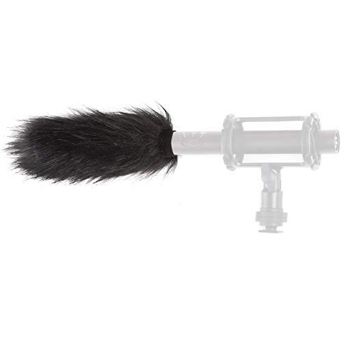 Movo WS4 Furry Outdoor Microphone Windscreen Muff for Long Shotgun...