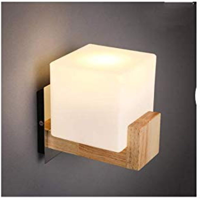 Aussenlampe Wandbeleuchtung Wandlampe Wandleuchte Innen 180X185Mm Wandleuchte Im Nordischen Stil Modern Minimalistisch Massiv Holz Warm