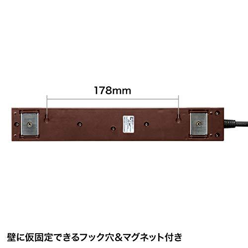 SANWASUPPLY(サンワサプライ)『雷ガードタップ(TAP-SP2110-3BR)』