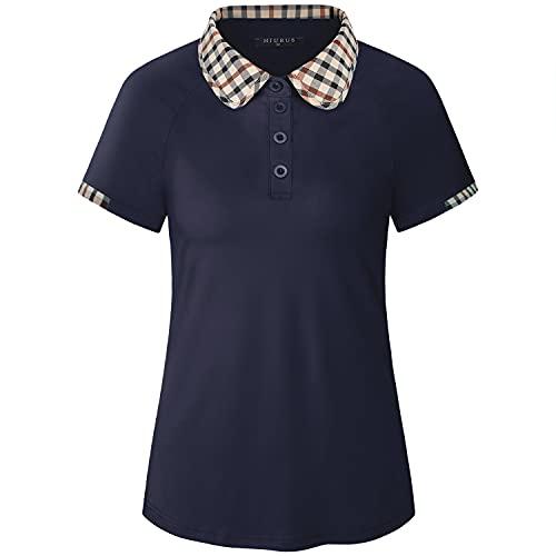 KORALHY Vrouwen Golf Shirts - blauw - XL