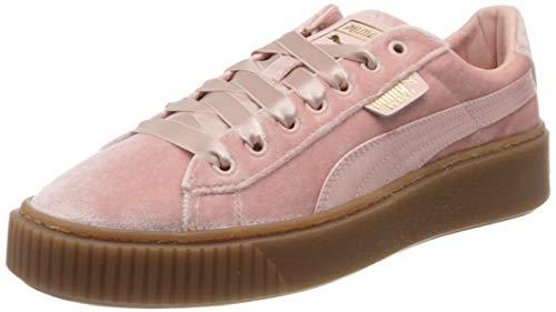 PUMA Basket Platform VS, Zapatillas para Mujer, Rosa Rosa Rosa, 40.5 EU