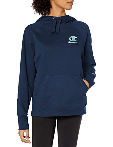 Champion Women's Hoodie, Athletic Navy, X Small