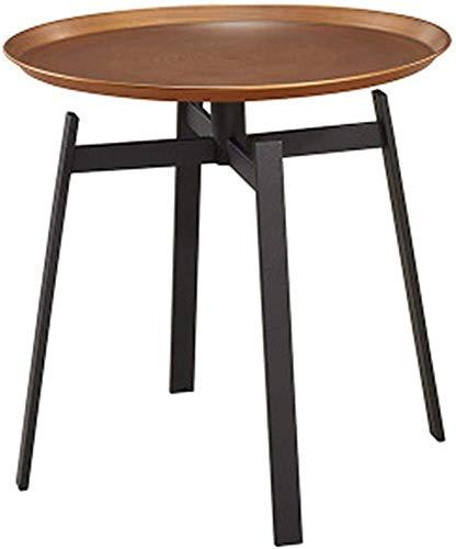 Taza de té Varios Té de mesa redonda de metal Varios bordes de tonos Sesión de té moderna Sala de estar al aire libre,48cm