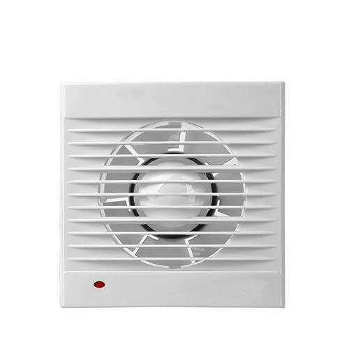 E084023 - Ventilador Extractor de Aire Silencioso de 98mm de diámetro para para Oficina,Baño, Cocina,Dormitorio, bajo consumo de energía 13W, funcionamiento silencioso 40dB y alta eficiencia 1