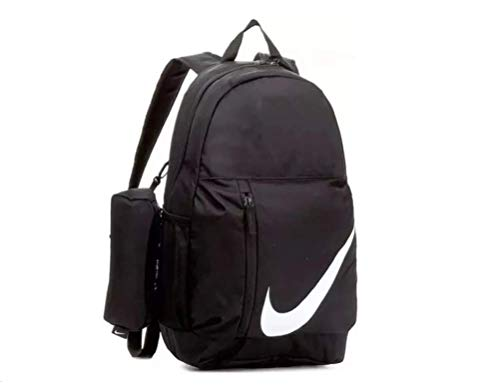 Nike Elemental Backpack 22L Rucksack School Gym Sports Bag Womens Girl Boys Men Unisex Black White