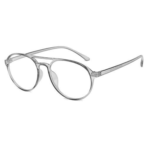 EYEphd 2021 Marco multifocal progresiva Gafas de Lectura-Fotocromáticas Lector Exterior Retro del Aviador / UV400 Unisex dioptrías +1,0-+3,0,03,+1.5