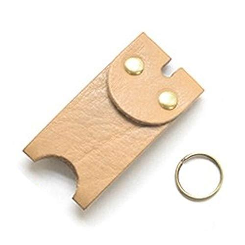 キーカバー 栃木レザー 本革 メンズ レディース フルカバー キーパー 鍵カバー ヴォーノオイルレザー (タン)