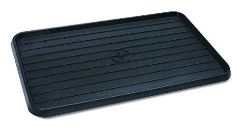 WirthCo 40098 Multi-Use Mat Boot Tray - Black 15' x 25' x .75'