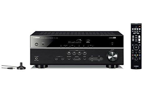 ヤマハ AVレシーバー 5.1ch Bluetooth HDR 4K映像伝送 ブラック RX-V385(B)