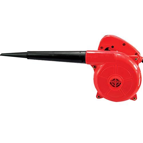 Blower Wmarking UK Elektrisches Gebläse, doppelt gelagerte Nylon-Gebläseklappe mit Kupfermotor, doppelte Staubabsaugung, 700 W mit Zubehör, Innenhof, Werkstatt, Fabrik, Zuhause
